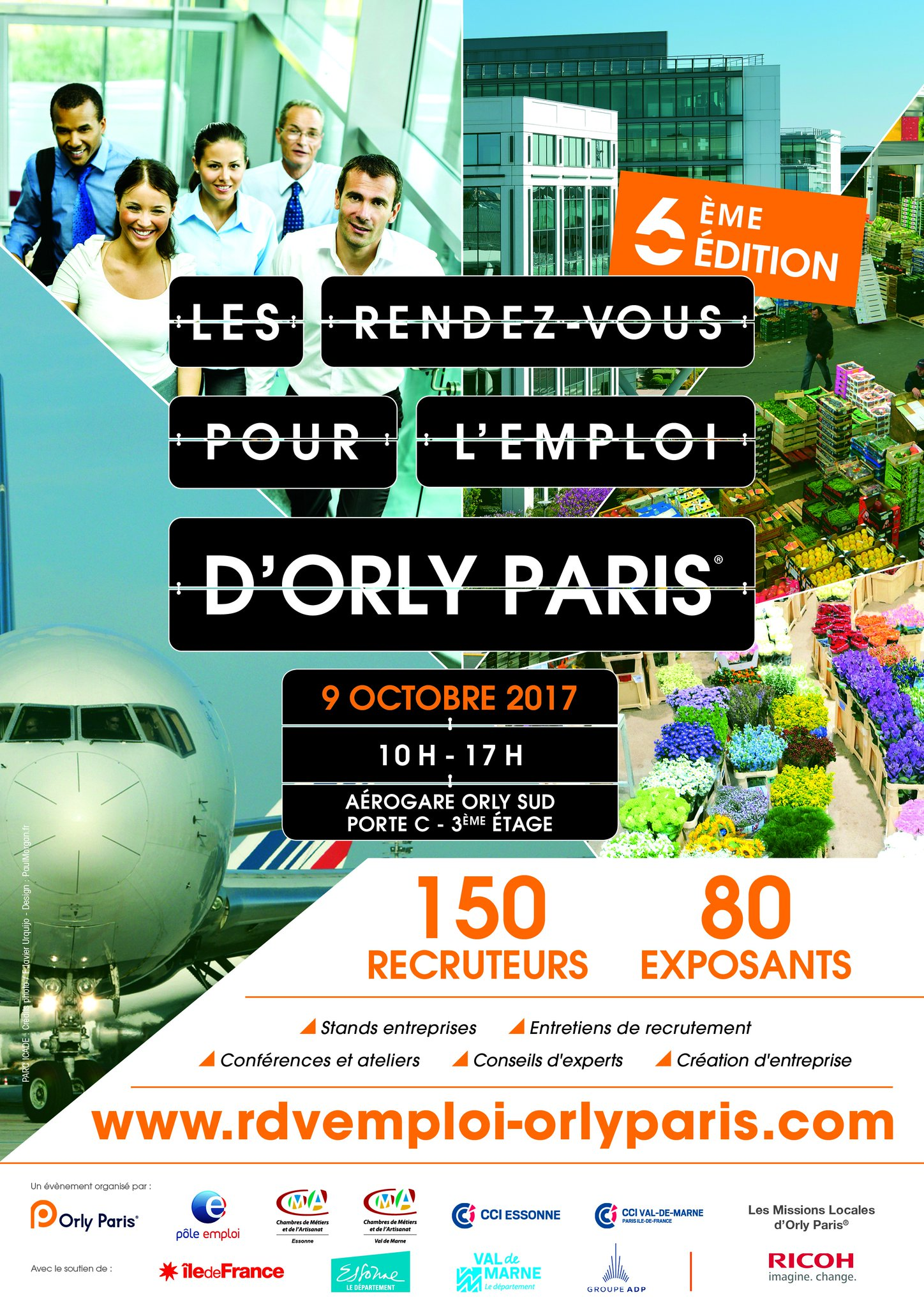 6e édition des rendez vous pour l emploi Paris Orly
