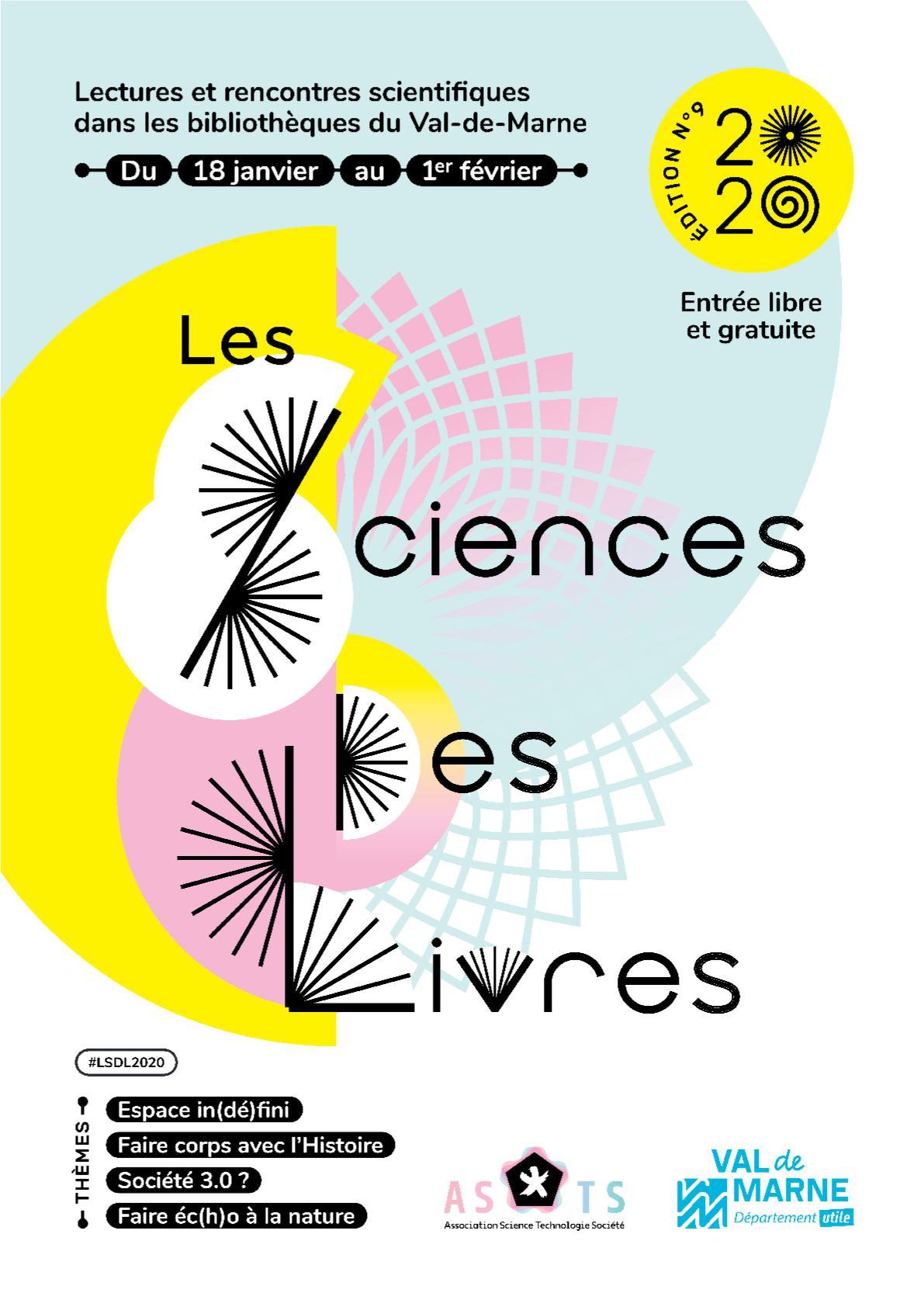 Bibliothèque De Fontenay Sous Bois sciences des livres 2020 : rencontres et débats dans les