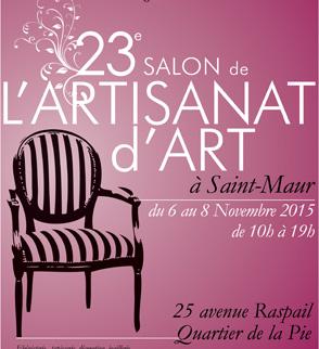 Salon de l artisanat d art for Salon artisanat d art