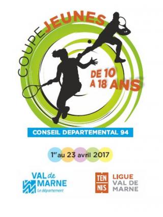 Tennis : Coupe Jeunes du Conseil départemental 94