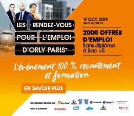 Rendez-Vous pour l'emploi d'Orly Paris® 2019