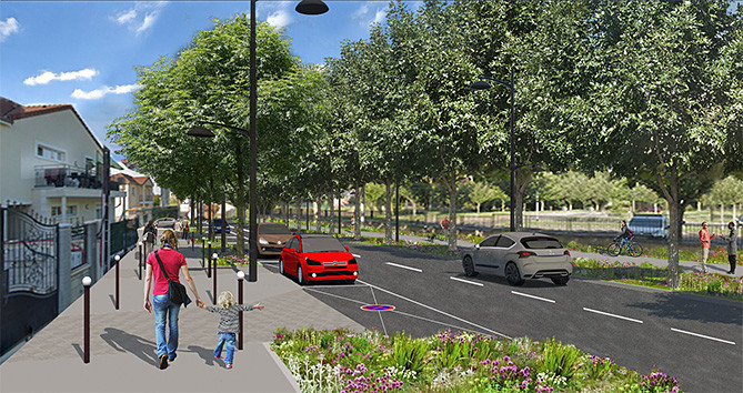 Réaménagement de l'avenue John-Fitzgerald-Kennedy pour améliorer votre cadre de vie à Villeneuve-Saint-Georges