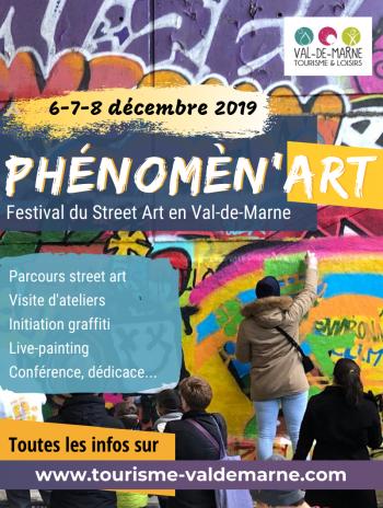 Phénomèn'Art, le nouveau festival Street Art en Val-de-Marne