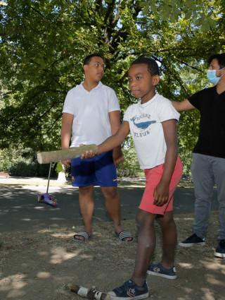 Jeux de bois au Parc du Petit-le-Roy © Thierry Borredon
