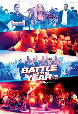Projection en plein air du film Battle of the Year au parc de la Plage Bleue (Valenton)