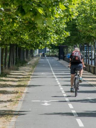 Evénement UPEDD consacré au vélo, crédit photo : E. Legrand