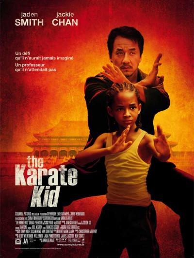 Projection en plein air du film Karaté Kid au parc du Coteau de Bièvre
