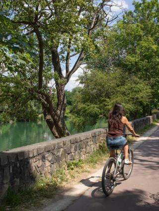 Le vélo est de retour Cycle 3 (2020-2021) de l'UPEDD ; Crédit photo : M. Génon