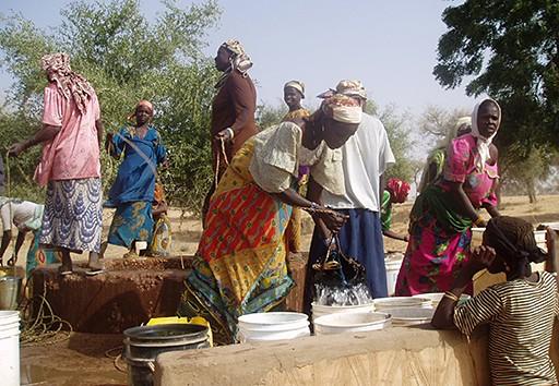 Projet de réhabilitation des puits au Niger
