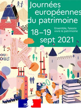 Journées européennes du patrimoine 2021 à la Roseraie du Val-de-Marne