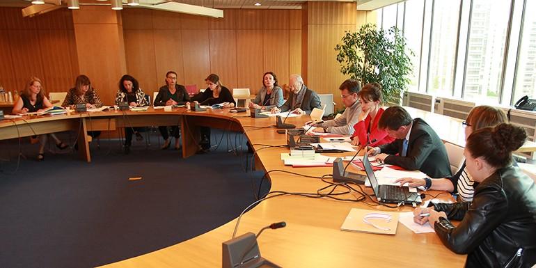 La première réunion de travail du nouvel Observatoire de l'Egalité s'est tenue le 20 juin 2016