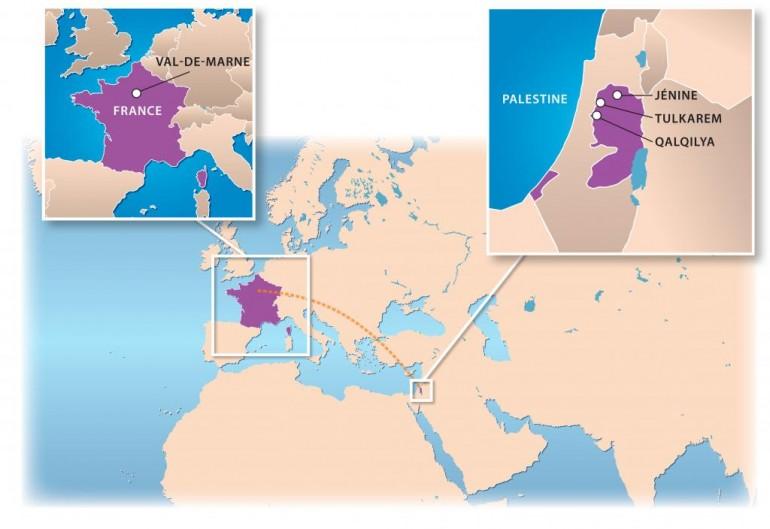 Coopération avec la Palestine
