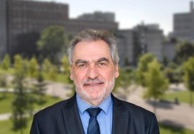 Christian Favier, président du Val-de-Marne