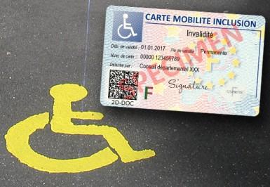 CMI, carte mobilité inclusion