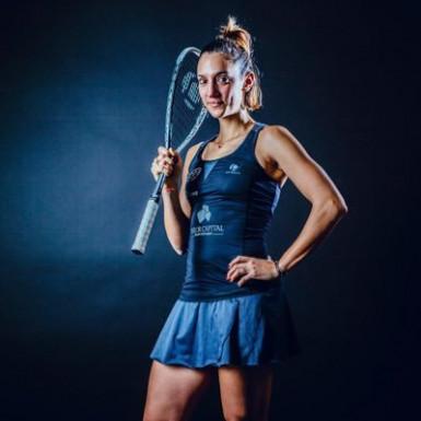 Camille Seme, championne de squash originaire de Créteil