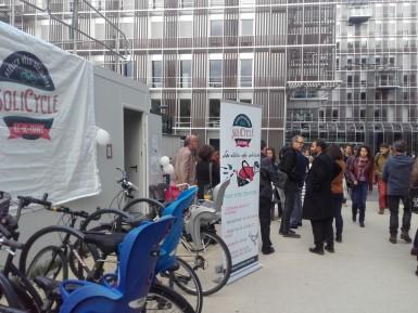 Solicycles vélos solidaires à Fontenay sous Bois ESS Val de Marne