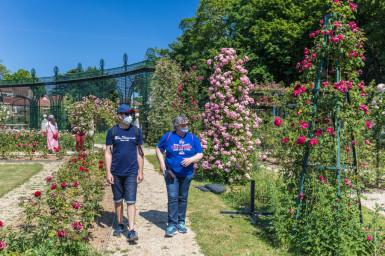 jardin de la roseraie du Val-de-marne