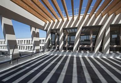 Education, Collège : le nouveau collège Josette-et-Maurice-Audin à Vitry-sur-Seine - Photo : M. Lumbroso