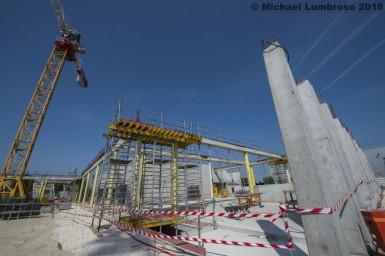 Construction du collège Seine-Gare à Vitry-sur-Seine