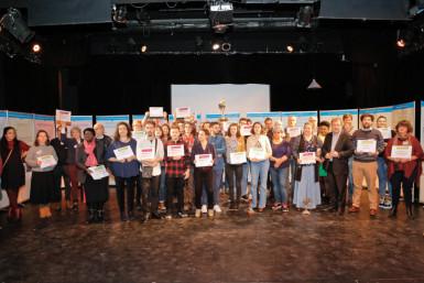 Lauréats de l'appel à projets ESS 2019 (avec les lauréats de l'appel à projets en faveur du climat)