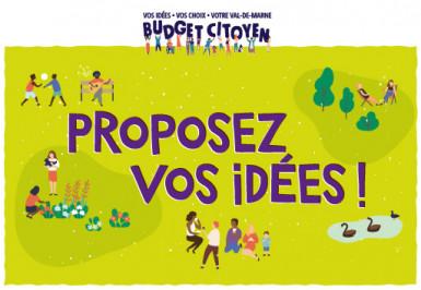 Budget citoyen, vos idées, vos choix, votre Val-de-Marne