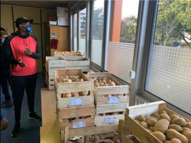 Colis alimentaires covid 2020 - Association BOUJE de Boissy-Saint-Léger
