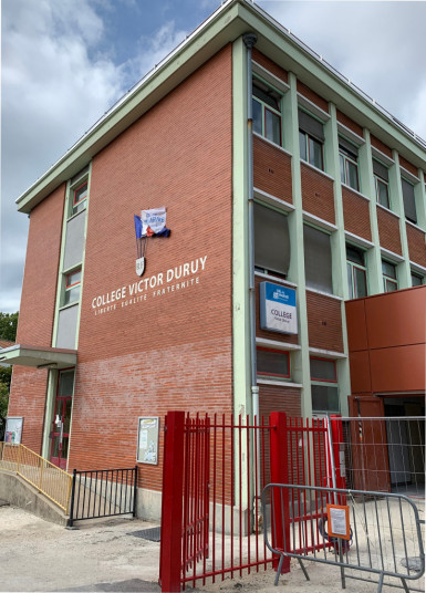 Collège Victor-Duruy à Fontenay-sous-Bois