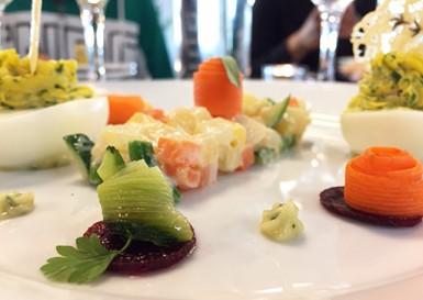 """Bienvenue dans le restaurant d'application de """"Cuisine mode d'emploi(s)"""" à Champigny-sur-Marne."""