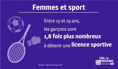 Les filles pratiquent moins le sport à l'adolescence