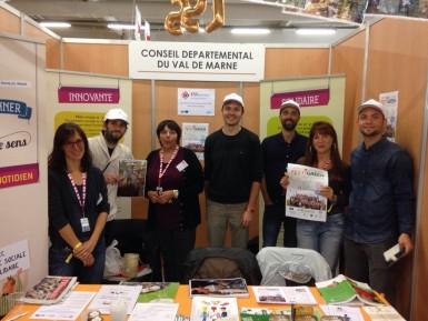 Acteurs ESSaimons en Val-de-Marne à la Fête de l'Huma 2017