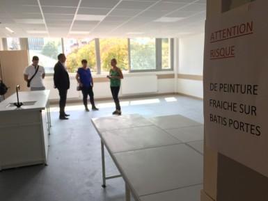 Travaux en cours à Joliot-Curie à Fontenay-sous-Bois