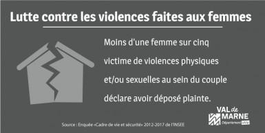 Infographie sur les violences faites aux femmmes