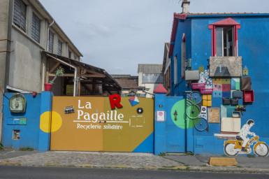La ressourcerie La Pagaille à Vitry-sur-Seine © Michaël Lumbroso CD94