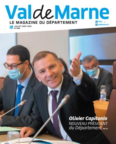couverture du magazine Val-de-Marne