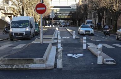 Sécurisation de la piste cyclable des rues Westmeyer et Molière (RD154) à Ivry