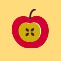 """logo des ateliers """"bien dans son assiette"""" du Prif"""