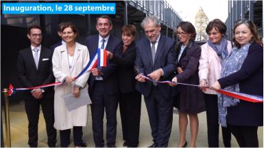 Le président du Val-de-Marne a inauguré le collège provisoire Saint-Exupéry