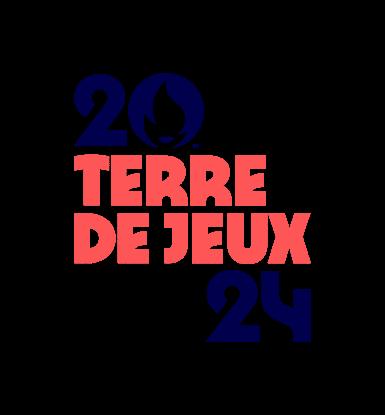 """nouveau logo """"Terre de Jeux"""""""