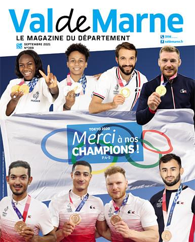 "Magazine ""ValdeMarne"" de septembre 2021"