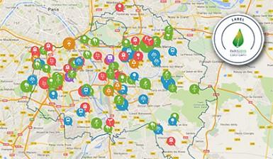 Carte participative « Le Val-de-Marne en mouvement pour le climat » - Label COP21