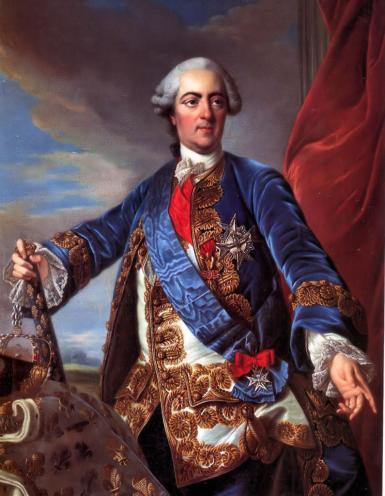 En 1739, Louis XV s'installe au château de Choisy.