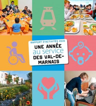Synthèse du rapport d'activités 2015 du Conseil départemental du Val-de-Marne.