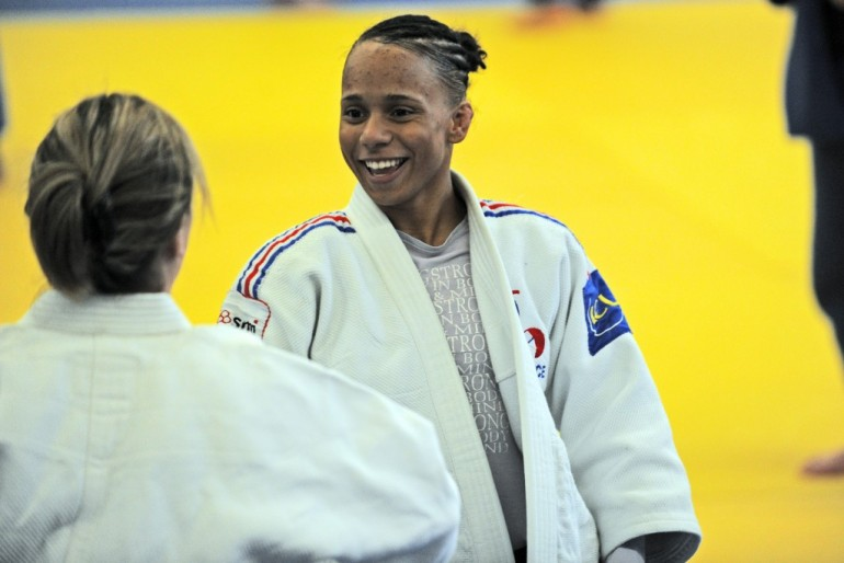 Amandine Buchard, championne de judo. © Christian Petit.