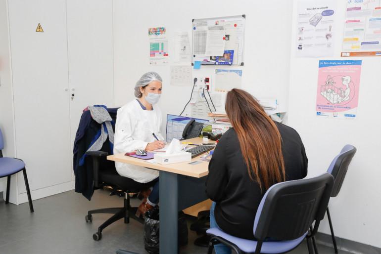 Des créneaux de 30 minutes sont prévus entre chaque consultation ; crédit photo : Agnès Deschamps