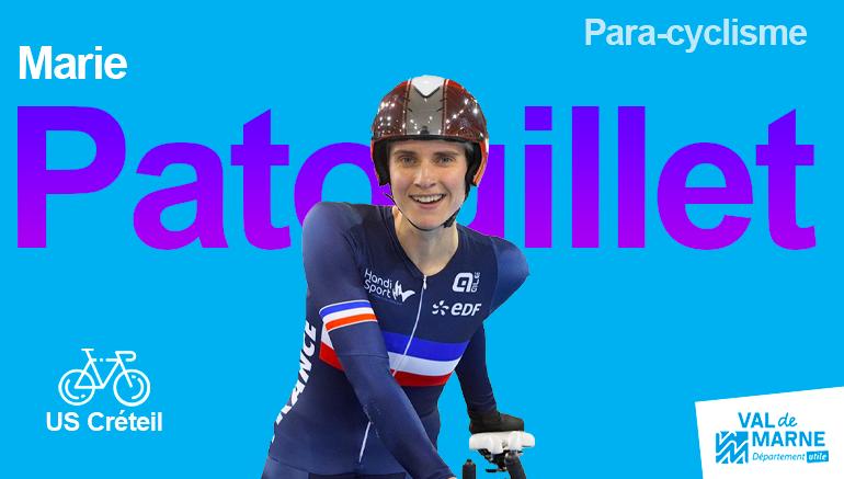 Marie Patouillet, 2 fois médaillée de bronze en para cyclisme