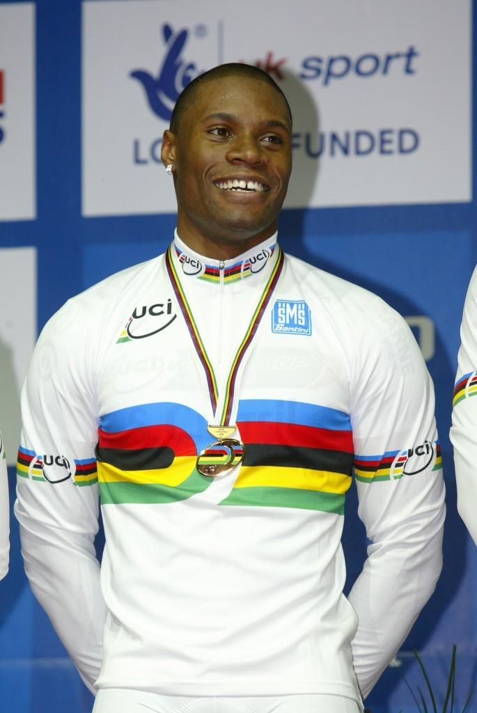 Grégory Baugé, champion de cyclisme sur piste. © DR