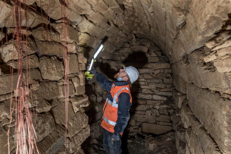Fouille archéologique sur un site de Saint-Maur (©E. Legrand)