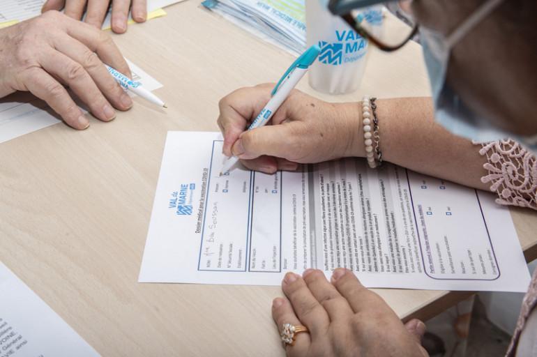 4. Signature du consentement pour tous les seniors volontaires