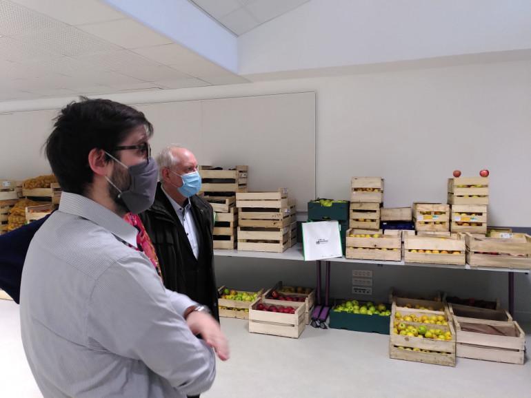 Livraison de fruits et légumes à la Maison de la Bièvre d'Arcueil