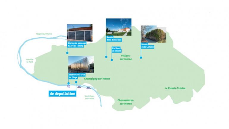Projet d'assainissement départemental du Ru de la Lande